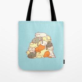 Meowtain Tote Bag