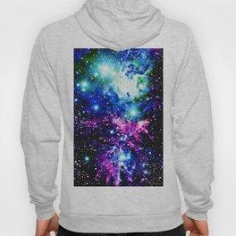 Fox Fur Nebula Dark & Vibrant Hoody