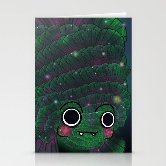 Glowfish Stationery Cards