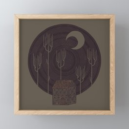 Another Night Framed Mini Art Print
