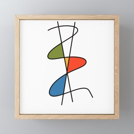 Abstract #28 Framed Mini Art Print