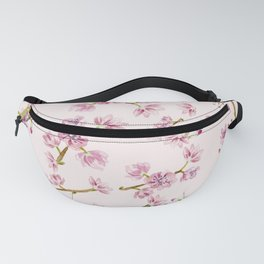 Spring Flowers - Pink Cherry Blossom Pattern Fanny Pack