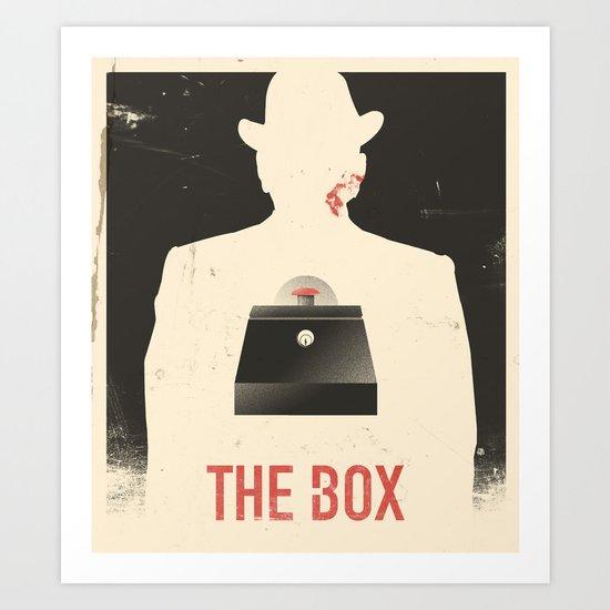 The Box - Movie Poster Art Print