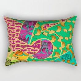 Tile 5 Rectangular Pillow
