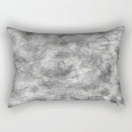 white / black smoke/ nicotine addiction Rectangular Pillow