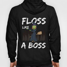Halloween Wicked Witch Floss Like A Boss Youth Dance Hoody