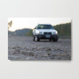 Forester on Rockshore Metal Print