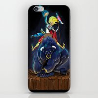 bull iPhone & iPod Skins featuring Bull by (Tak)