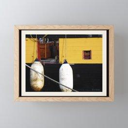 Flagship Niagara Detail Framed Mini Art Print