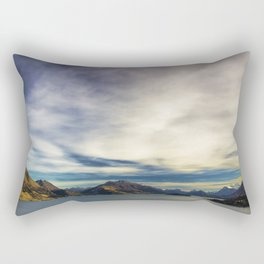 Road to Glenorchy Rectangular Pillow