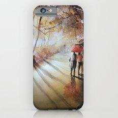 Break in the clouds - watercolor Slim Case iPhone 6s