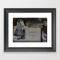 ATHENES Framed Art Print