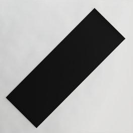 Black Minimalist Yoga Mat