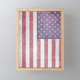 American Flag Framed Mini Art Print
