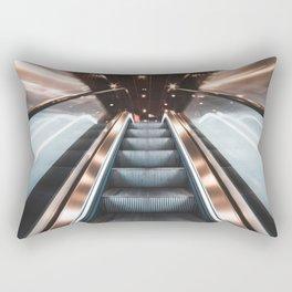 Fast Escalator Rectangular Pillow