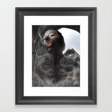 Cinder Child Framed Art Print