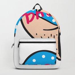 Bad Ass statement artwork Backpack
