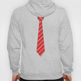 Red Tie Hoody
