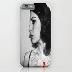 You are here in my heart iPhone 6s Slim Case