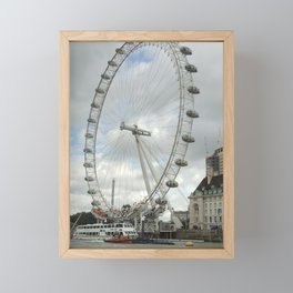 London Eye Framed Mini Art Print