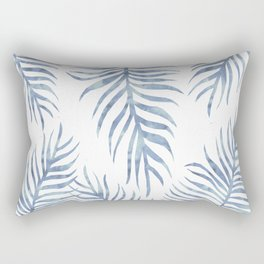 Fern Pattern Serenity Rectangular Pillow