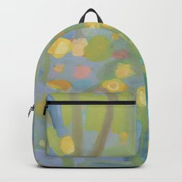 Colorful Abstract Landscape, Wading  Backpack