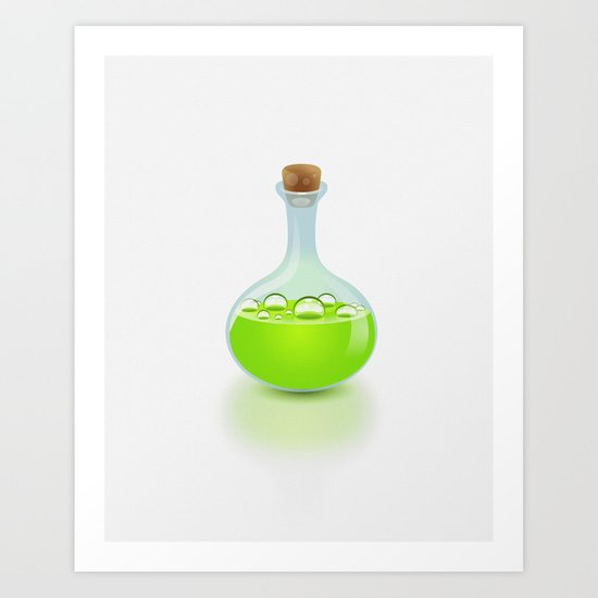 Secret Potion Art Print