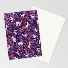 The White Unicorns Stationery Cards