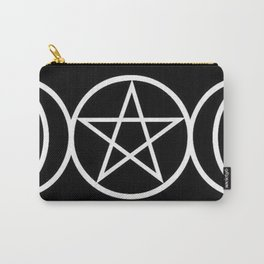 Pentacle#1 Pagan | Goddess | Witchy Carry-All Pouch