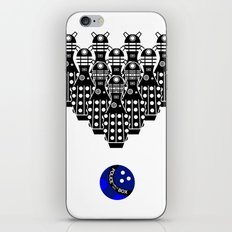 Time for Bowling. Doctor Who. iPhone & iPod Skin