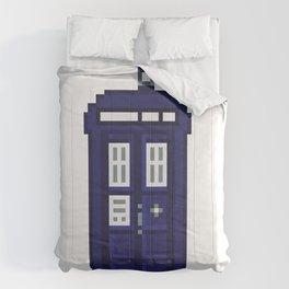 8-bit TARDIS Comforters