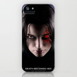 Death Becomes Her iPhone Case