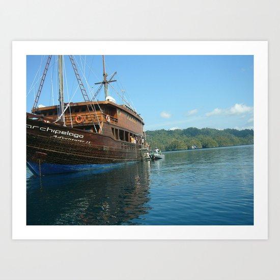 Archipelago Adventure  Art Print