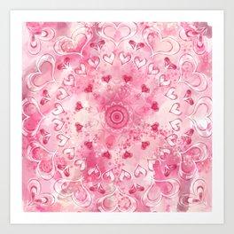"""The Suitor's Plea"" Kaleidoscope 5 by Angelique G. @FromtheBreathofDaydreams Art Print"