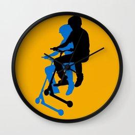 Landing Gears - Stunt Scooter Rider Wall Clock