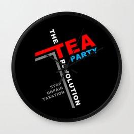 Stop Unfair Taxation Wall Clock