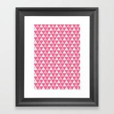 Pink Sugar Framed Art Print