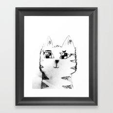 Cat for Sale Framed Art Print