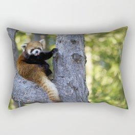 Red Panda at the Toronto Zoo Rectangular Pillow