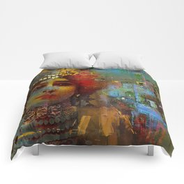 La demi-mondaine Comforters