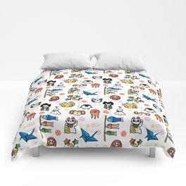 Lucky Japan Doodle Comforters