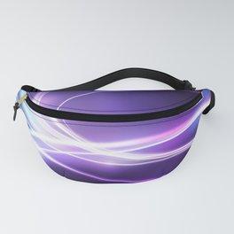Nebula Abstract Glow Fanny Pack