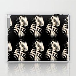 Palm Leaves Pattern #13 #Gold Touch #Black #decor #art #society6 Laptop & iPad Skin