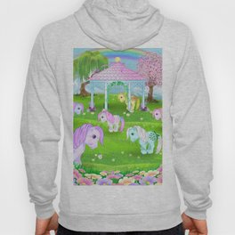 g1 my little pony collector ponies pagoda meadow Hoody