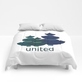 Green united Comforters
