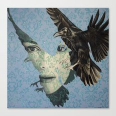 Nameless Here for Evermore Canvas Print
