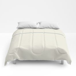 One Stripe Sand and Grey Comforters
