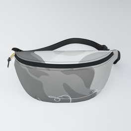 Covered With Line Fanny Pack
