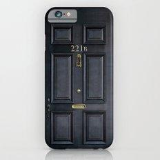 Classic Old sherlock holmes 221b door iPhone 4 4s 5 5c, ipod, ipad, tshirt, mugs and pillow case iPhone 6 Slim Case