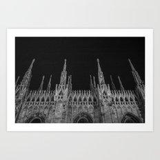 Milan: a city of Paradox  Art Print